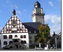 Das Rathaus der Stadt Plauen